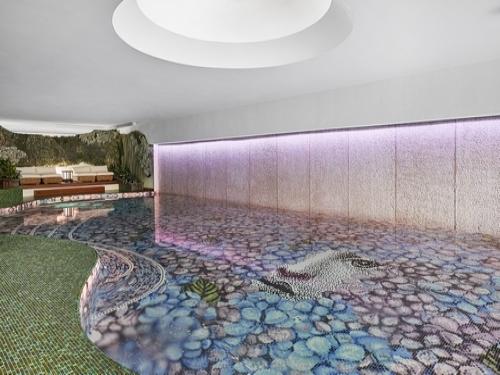 Mosaico Ortensia
